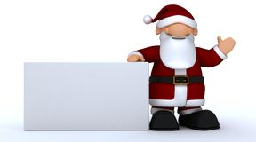 Cute Santa Claus Charicature Royalty Free Stock Photography