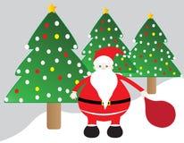 Cute santa claus Stock Image