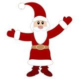 Cute Santa Claus. Vector illustration Stock Photos