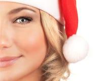 Cute Santa girl Royalty Free Stock Photo