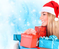 Cute Santa helper Royalty Free Stock Photo