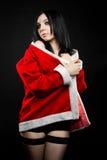 Cute Santa's helper Stock Images