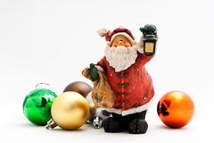 Cute Santa Toy Stock Photo