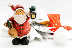Cute Santa Toy Royalty Free Stock Photography