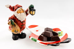 Cute Santa Toy Stock Image