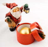 Cute Santa Toy Stock Images