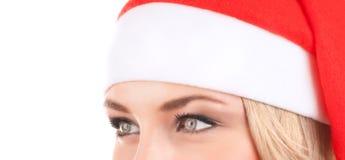 Cute Santa woman Royalty Free Stock Photo
