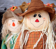 Cute scarecrow Royalty Free Stock Photo