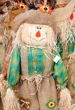 Cute scarecrow royalty free stock photos