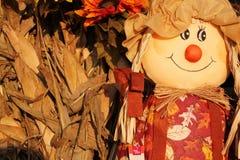 Cute scarecrow 2 Royalty Free Stock Photos