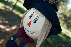 Cute Scarecrow Royalty Free Stock Images