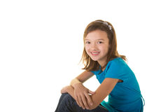Cute school aged child Royalty Free Stock Photography