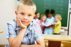Cute schoolboy Royalty Free Stock Image