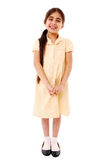 Cute schoolgirl Royalty Free Stock Image
