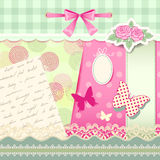 Cute scrap Stock Images