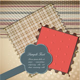 Cute scrapbook elements Royalty Free Stock Image
