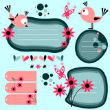 Cute scrapbook elements Stock Image