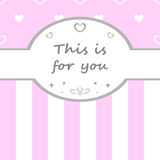 Cute scrapbook elements. Vector illustration. Royalty Free Stock Photography