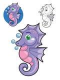 Cute Seahorse Stock Photo