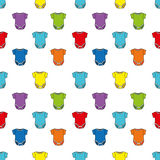 Cute seamless baby pattern Royalty Free Stock Image