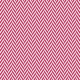 Cute seamless background broken chevron stripes red white. Seamless vector pattern with broken chevron stripes in red on white background.  Light grunge overlay Stock Images