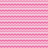Cute seamless background chevron stripes pink and white. Cute seamless vector background pattern with chevron stripes in pink and white. Light grunge overlay on Royalty Free Stock Photos