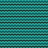 Cute seamless background chevron stripes teal black white. Cute seamless vector background pattern with chevron stripes in green, black and white. Light grunge Royalty Free Stock Photography