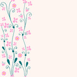 Cute seamless floral background Royalty Free Stock Photography