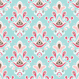 Cute seamless floral vector background Royalty Free Stock Images