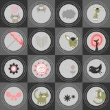 Cute seamless pattern Royalty Free Stock Image