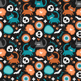 Cute seamless pattern royalty free illustration