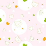 Cute seamless pattern. Cute seamless vector pattern for children Stock Images