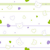 Cute seamless pattern Royalty Free Stock Image