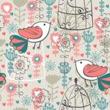 Cute seamless pattern Stock Image