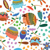 Cute seamless pattern Royalty Free Stock Photo