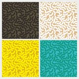 Cute Seamless Pattern. Cute pattern with 4 colors type Vector Illustration