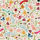 Cute seamless pattern Stock Photography