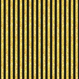 Cute seamless pattern of golden glitter stripes Stock Images