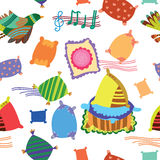 Cute seamless pattern Stock Photo