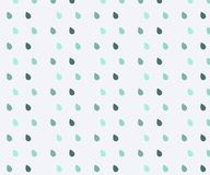 Cute seamless pattern. Seamless watercolor rain pattern. Blue raindrops. Rain seamless pattern with drop. Baby pattern vector illustration