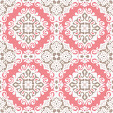 Cute seamless vector design. Pink absract Seamless pattern vector Royalty Free Stock Photo