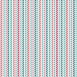 Cute seamless background geometric stripes red green white. Cute seamless vector pattern with broken red and green stripes on white background. Light grunge Royalty Free Stock Images