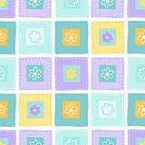 Cute seamless vector pattern Royalty Free Stock Photography