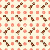 Cute Seamless Vector Pattern Royalty Free Stock Images