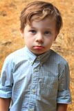 Cute Serious Kid Stock Photography