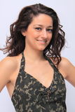 Cute brunette portrait Royalty Free Stock Images