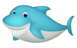 Cute shark cartoon character Royalty Free Stock Photo