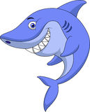 Cute shark cartoon Royalty Free Stock Photos