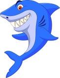 Cute shark cartoon. Illustration of Cute shark cartoon royalty free illustration
