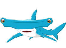 Cute shark cartoon. Illustration of cute shark cartoon Stock Images